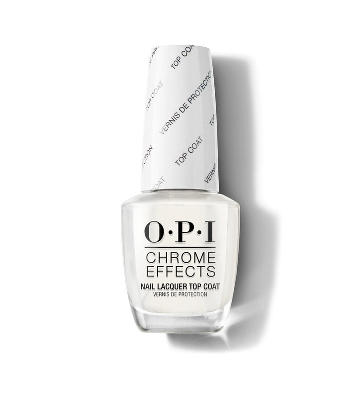 Chrome Effects. Nail Lacquer Top Coat - OPI