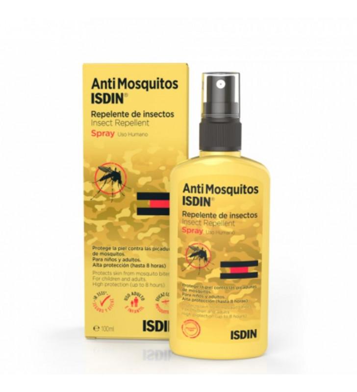 Antimosquitos. Repelente de Insectos Spray - ISDIN