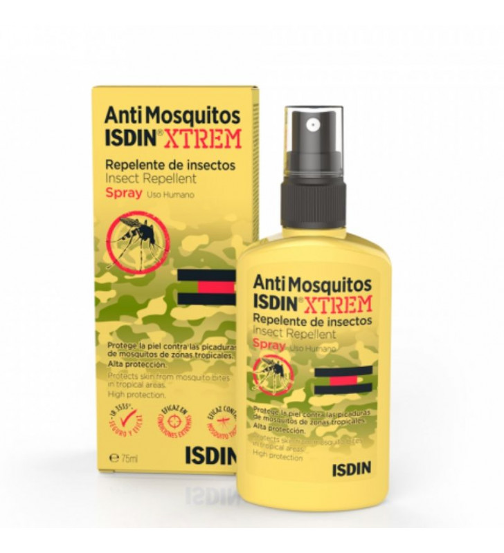 Antimosquitos. Extrem Repelente de Insectos Spray - ISDIN