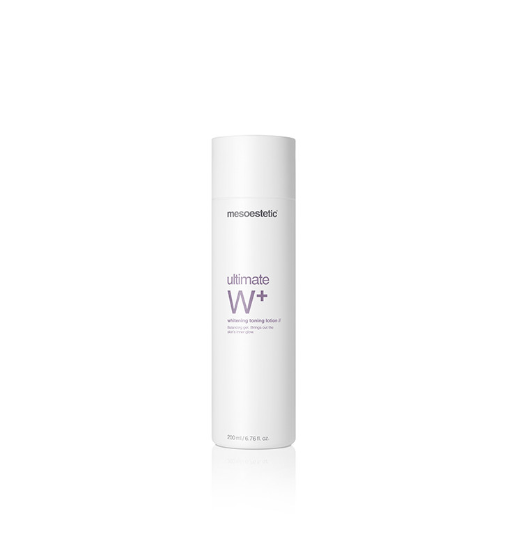 Ultimate W+. Whitening Toning Lotion - MESOESTETIC