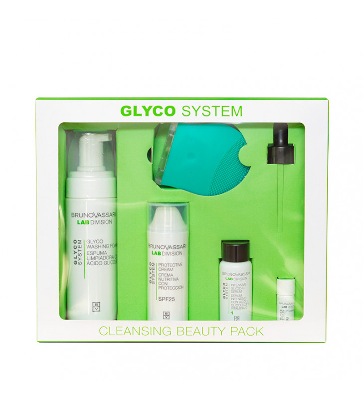 Glyco System. Cleansing Beauty Pack - BRUNO VASSARI