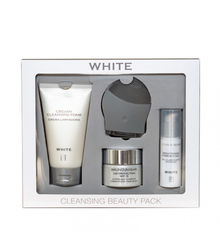 White. Cleansing Beauty Pack - BRUNO VASSARI