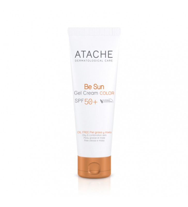 Be Sun. Gel-Crema Color SPF50+ - ATACHE