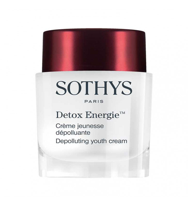 Detox Energie. Crème Jeunesse Antipolución - SOTHYS