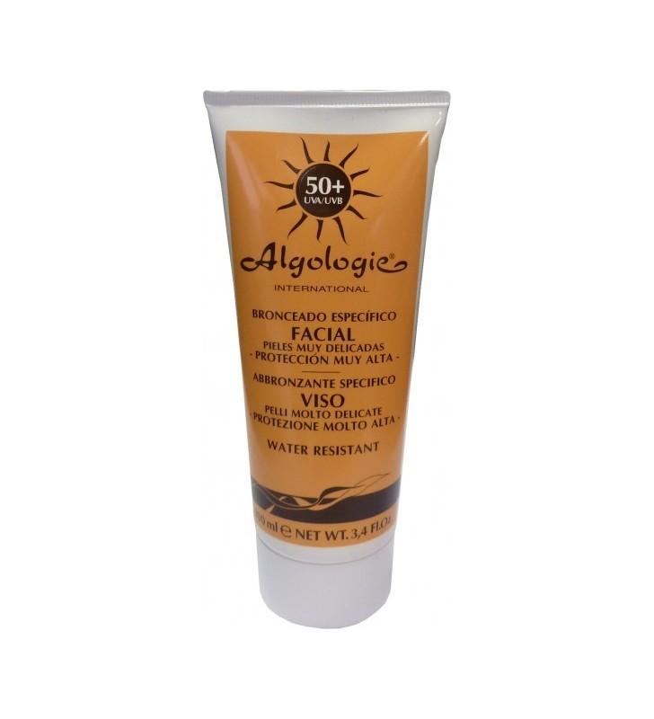 Crema solar facial SPF 50+ - ALGOLOGIE