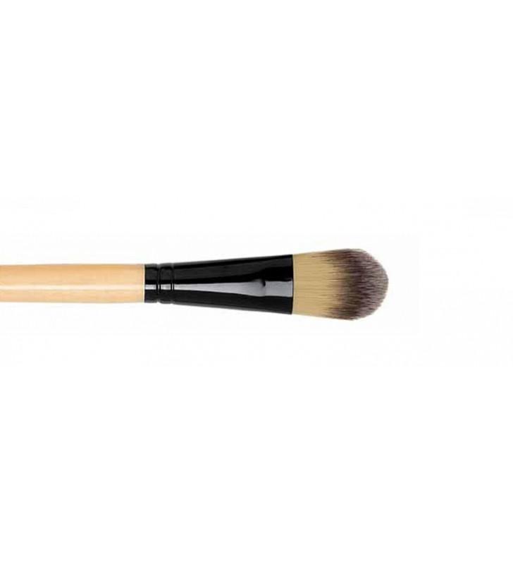 Natural. Brocha Maquillaje Y52501 - NOVARA