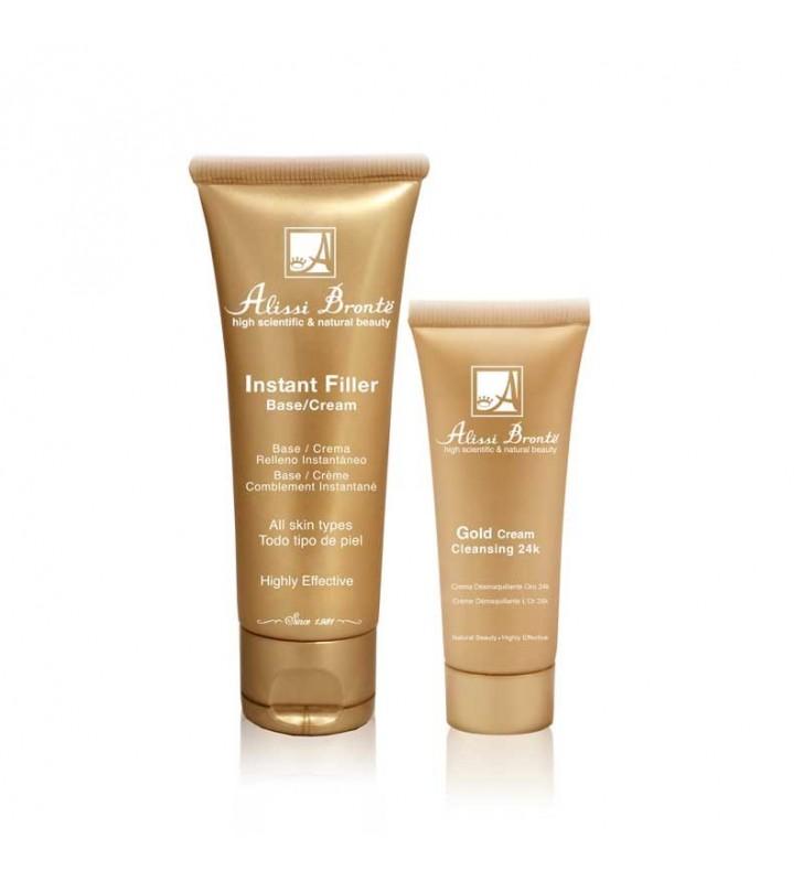 Crema Instant Filler + Gold Cream - ALISSI BRONTË