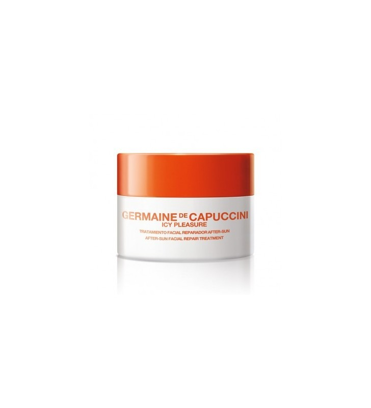 Golden Caresse. Icy Pleasure. Reparador Facial After Sun - GERMAINE DE CAPUCCINI