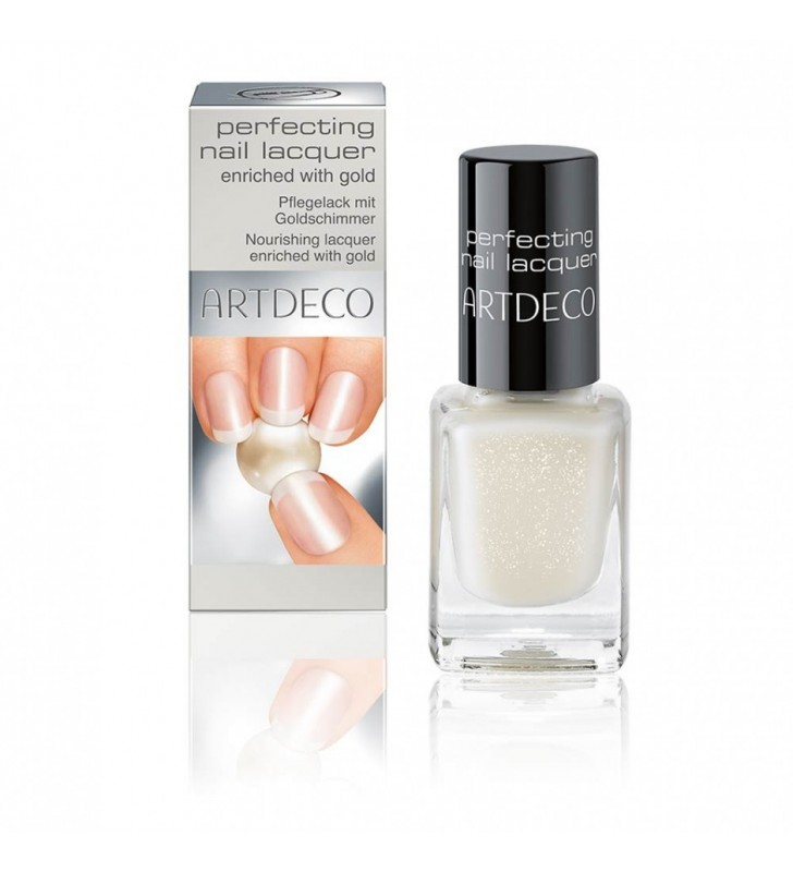 Perfecting Nail Lacquer Enriched With Gold - ARTDECO