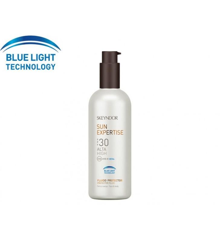 Sun Expertise. Fluido protector Blue Light Technology SPF30 - SKEYNDOR