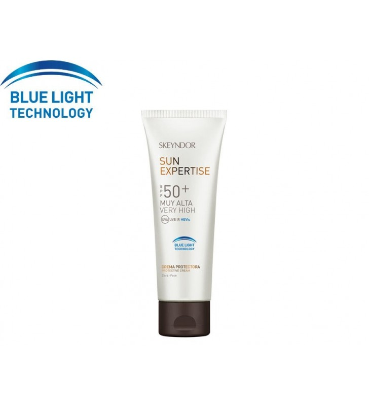 Sun Expertise. Crema protectora Blue Light Technology SPF50+ - SKEYNDOR