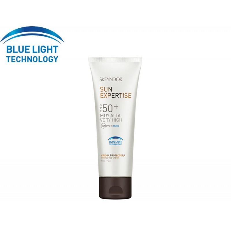 Sun Expertise. Crema protectora Blue Light Technology SPF50+ - SKEYNDOR