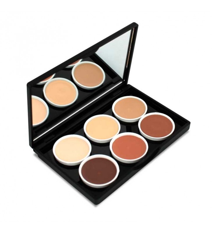 Paleta Contouring Paint Stick 6 tonos Make-Up Palette - STAGE LINE