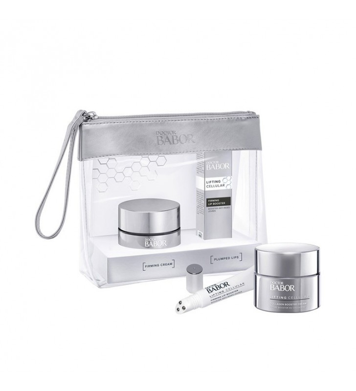 Pack Lifting Set. Collagen Booster Cream + Firming Lip Booster - BABOR