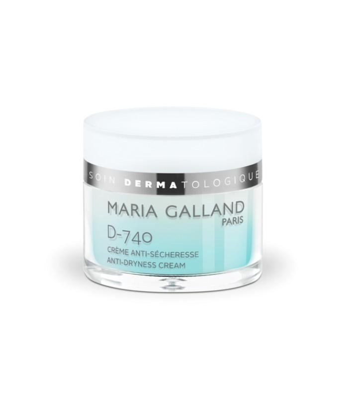Soin Dermatologique. D-740 Crème Anti-Sécheresse - MARIA GALLAND