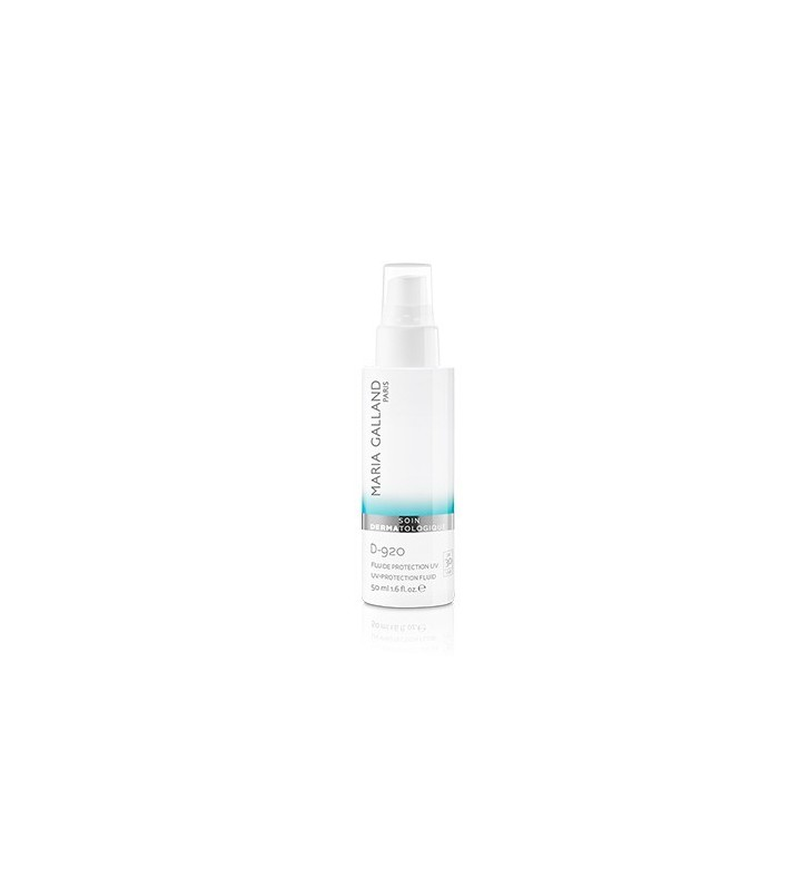 Soin Dermatologique. D-920 Fluide Protection UV SPF 30 - MARIA GALLAND