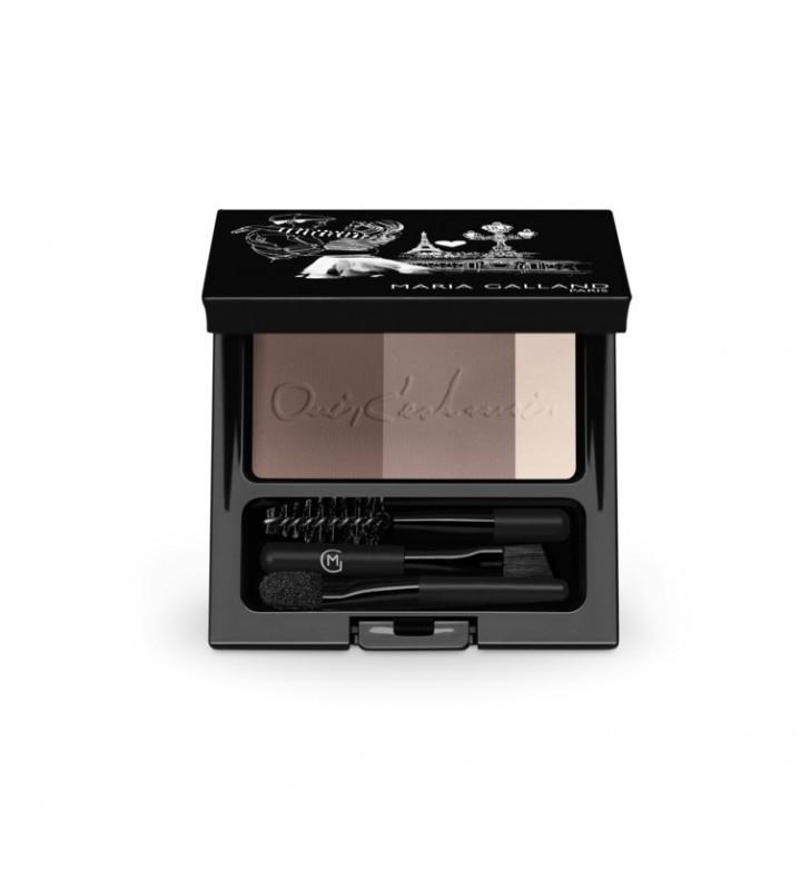 Le Maquillage. Ojos 525-20 Set Sourcils Parfait Naturel - MARIA GALLAND