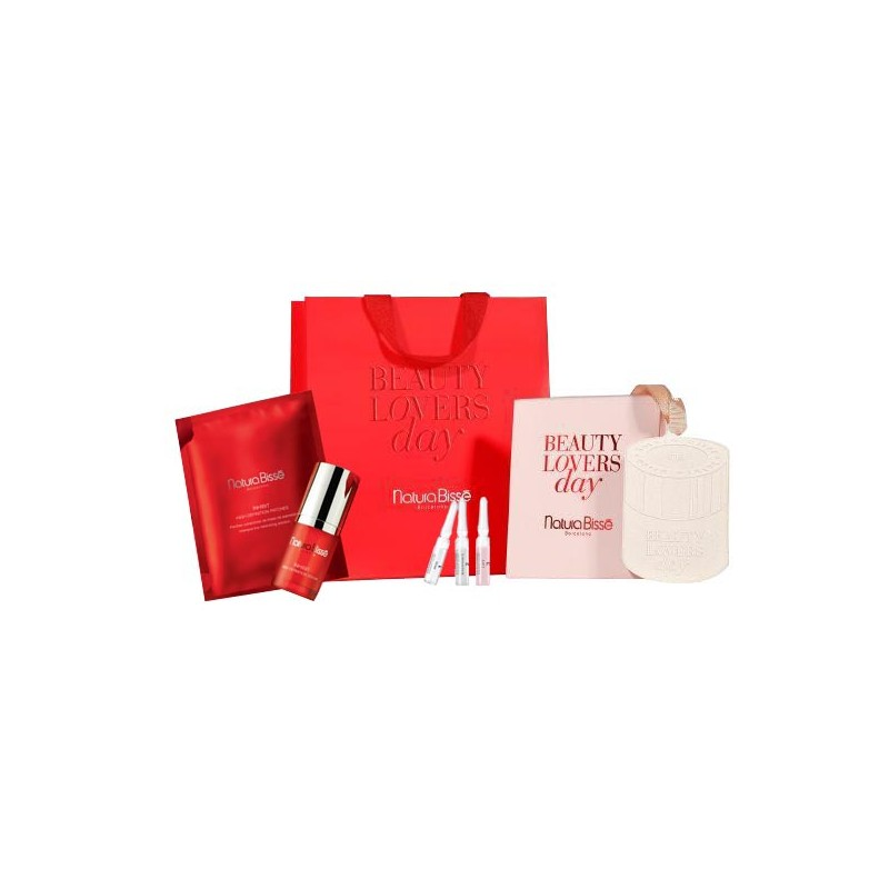 Pack Beauty Lovers Day. Inhibit High Definition Serum + Patches + Instant Glow - NATURA BISSE