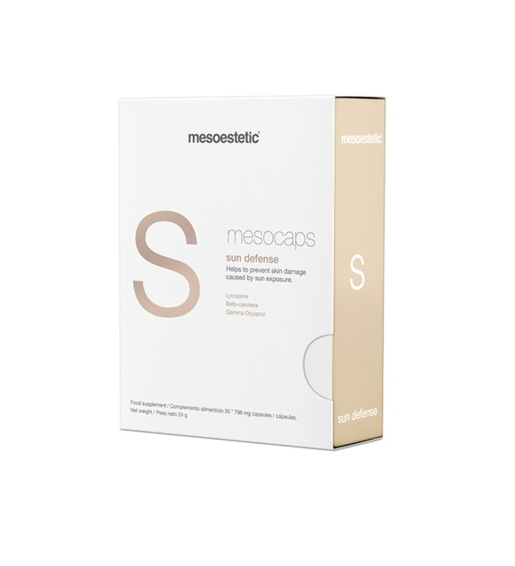 Mesocaps. Sun Defense - MESOESTETIC
