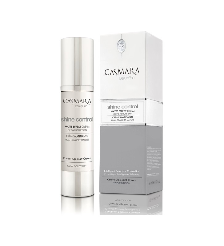 Shine Control Collection. Anti-Age Matte Effect Cream - CASMARA