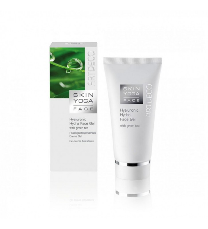 Skin Yoga Face. Hyaluronic Hydra Face Gel with Green Tea - ARTDECO