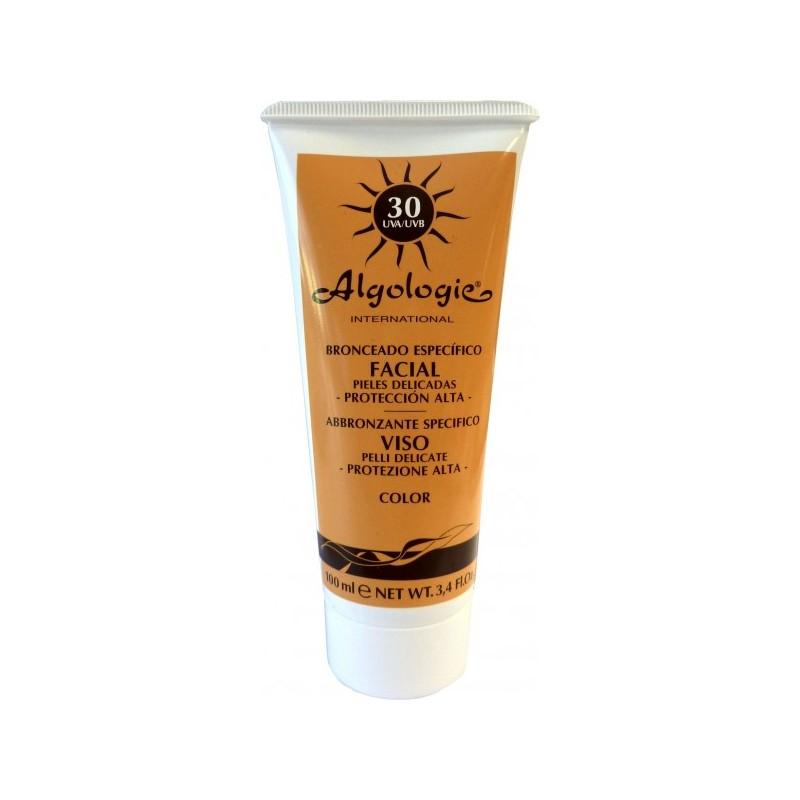 Crema solar facial SPF 30 Color  - ALGOLOGIE