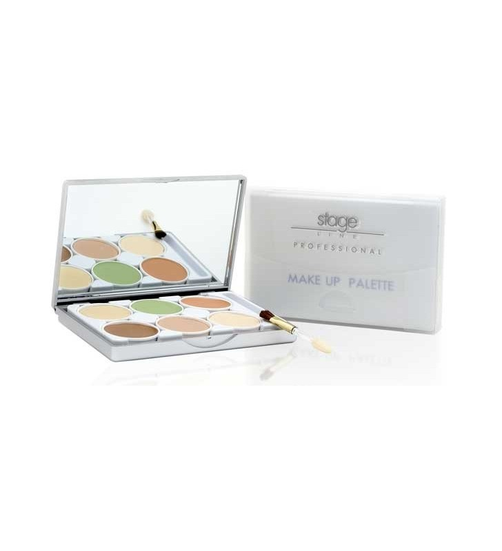 Paleta Paint Stick 6 tonos Make-Up Palette - STAGE LINE