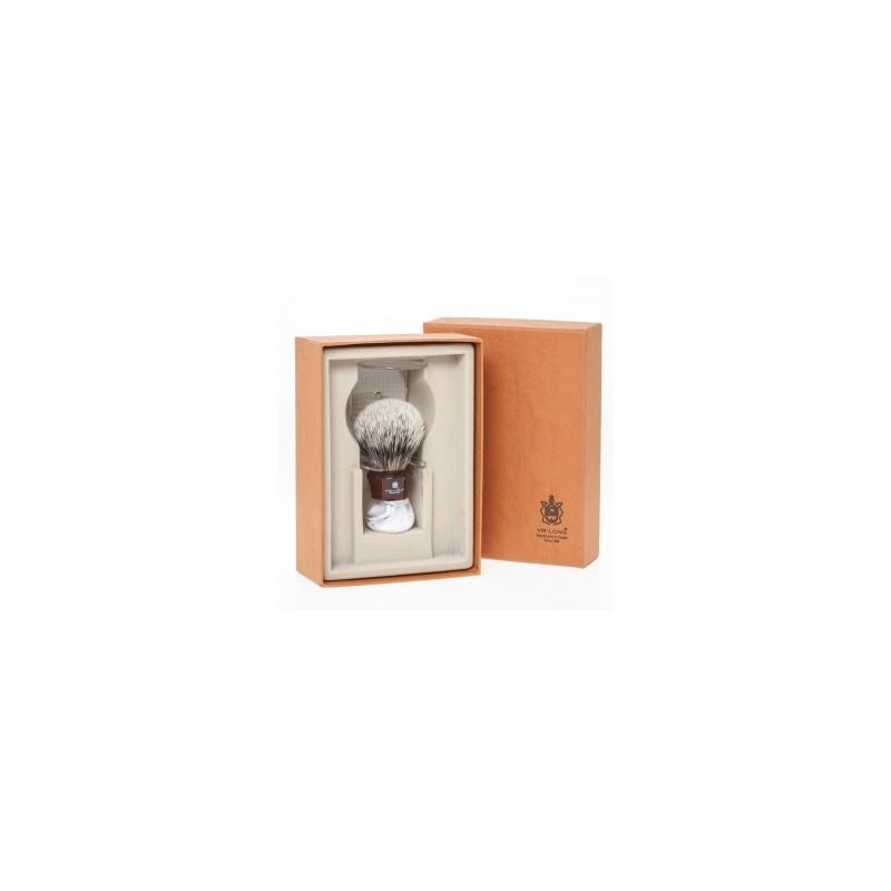 Brocha afeitar Punta plata seleccionado Ref.16910 resina - VIE-LONG