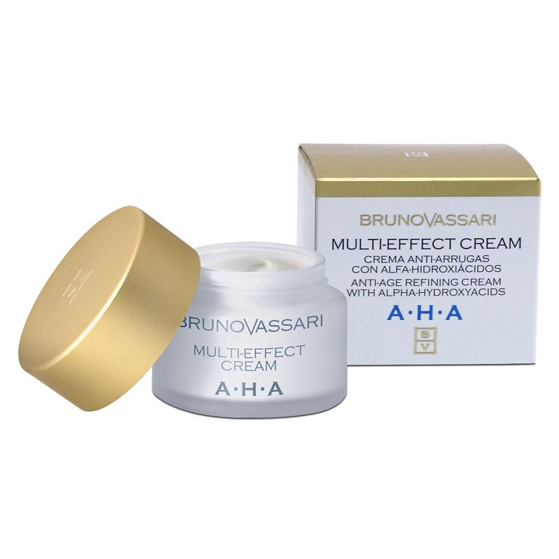 AHA. Multi-Effect Cream, antiarrugas - BRUNO VASSARI