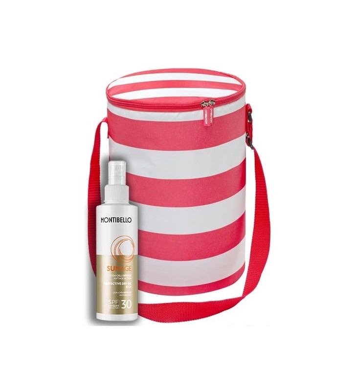 Pack Sun Age. Protective Dry Oil SPF 30 + Cooler Bag - MONTIBELLO