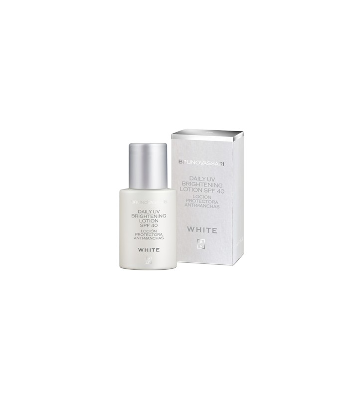 White. UV Brightening Lotion SPF40 Anti-manchas - BRUNO VASSARI