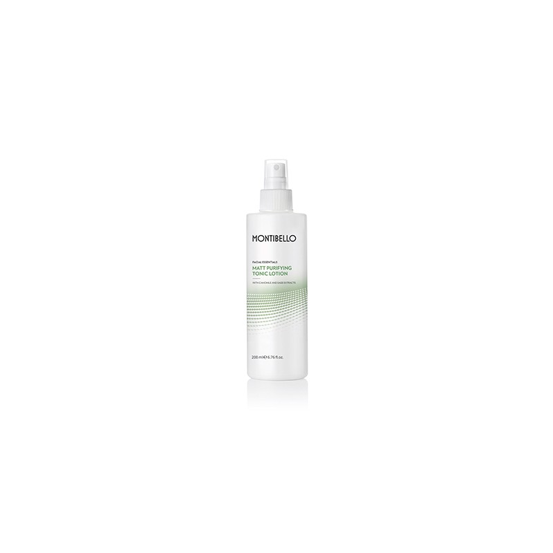 Facial Essentials. Matt Purifying Tonic Lotion - MONTIBELLO