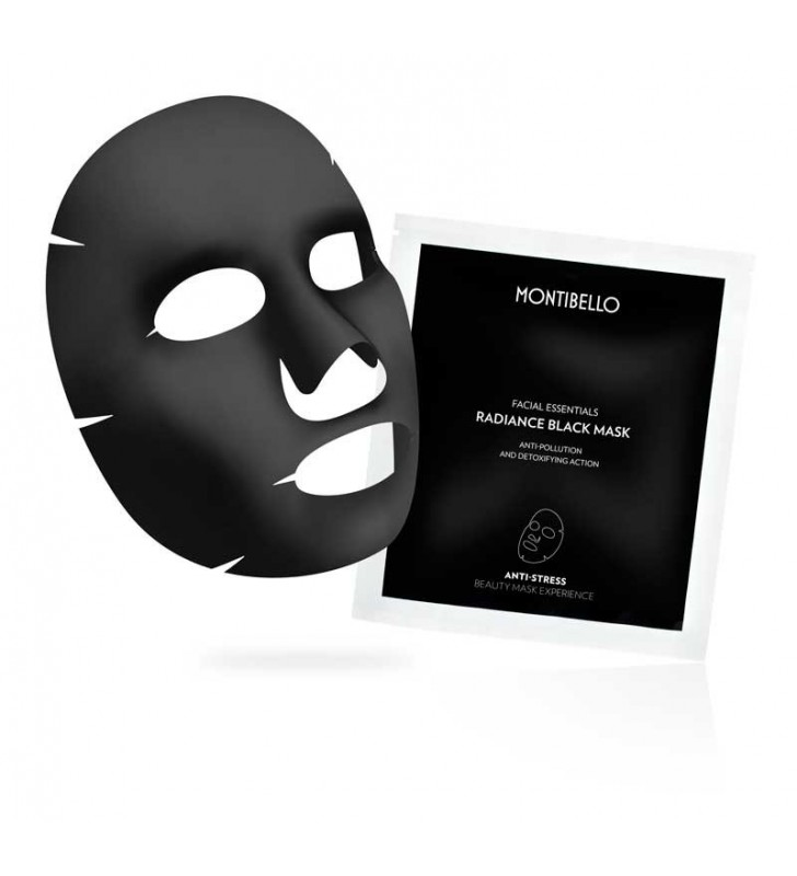Facial Essentials. Radiance Black Mask - MONTIBELLO