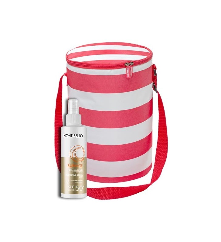 Pack Sun Age. Protective Dry Oil SPF 50+ y Cooler Bag - MONTIBELLO