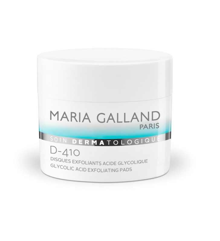 Soin Dermatologique. D-410 Disques Exfoliants Acide Glycolique - MARIA GALLAND