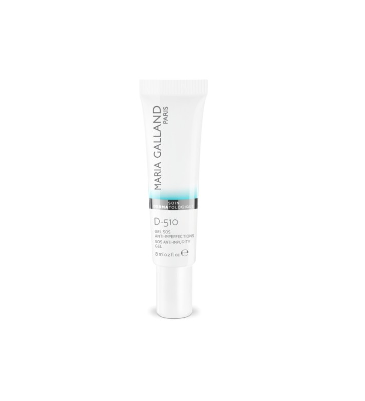 Soin Dermatologique. D-510 Gel SOS Anti-Imperfections - MARIA GALLAND