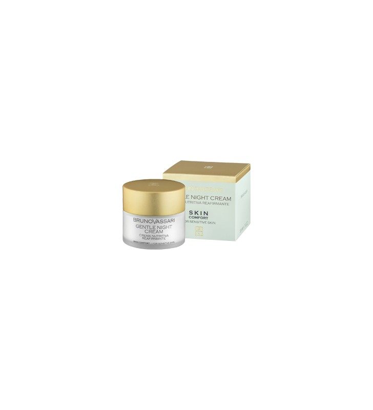 Skin Confort. Gentle Night Cream - BRUNO VASSARI