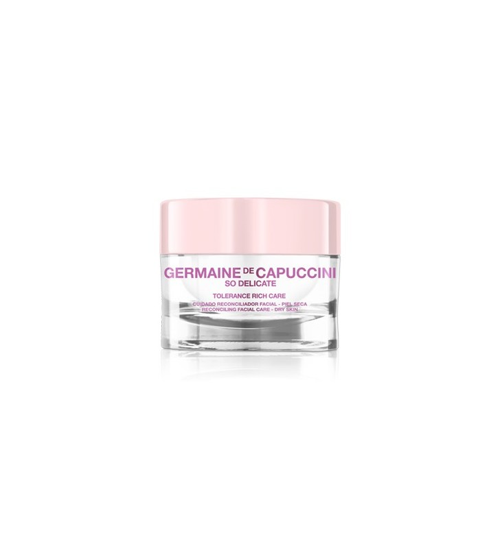 So Delicate. Crema Tolerance Care Rich - GERMAINE DE CAPUCCINI