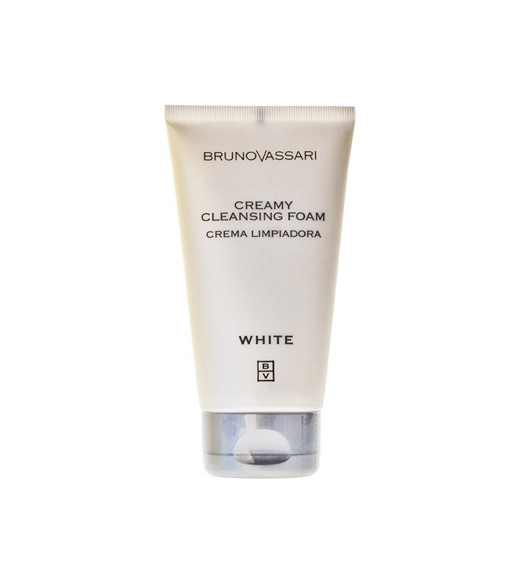 White. Creamy Cleansing Foam - BRUNO VASSARI