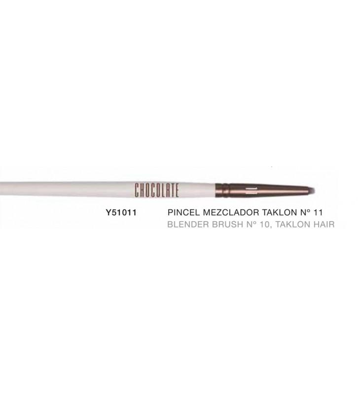 Chocolate. Pincel Mezclador Blender con pelo de Taklon nº11 Y51011