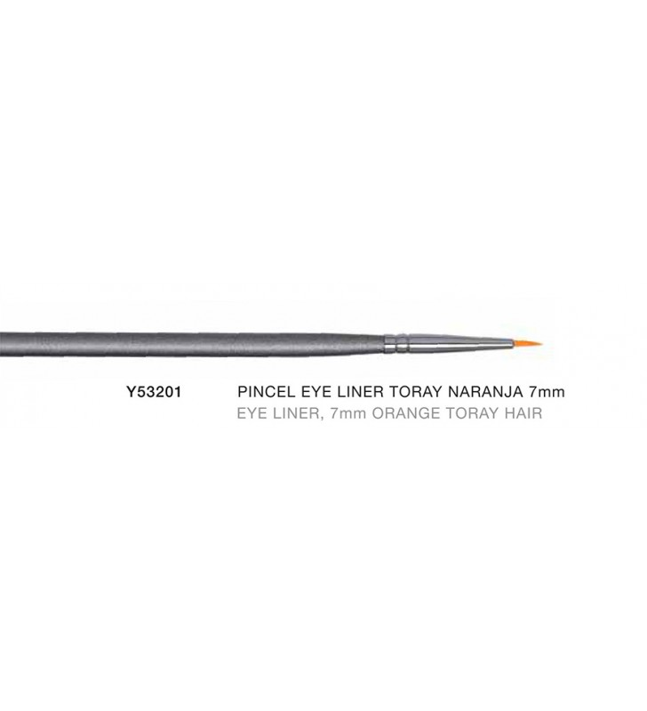 Firenze. Pincel eye liner toray naranja de 7 mm Y53201 - Novara