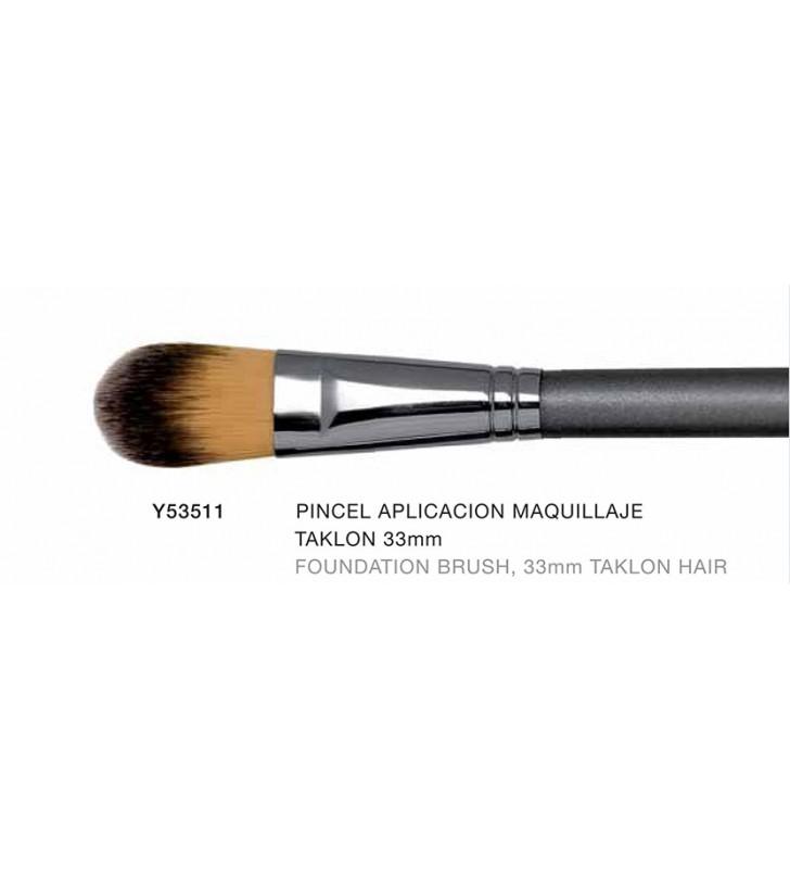 Firenze. Pincel para Aplicación de Maquillaje Taklon 33 mm - NOVARA