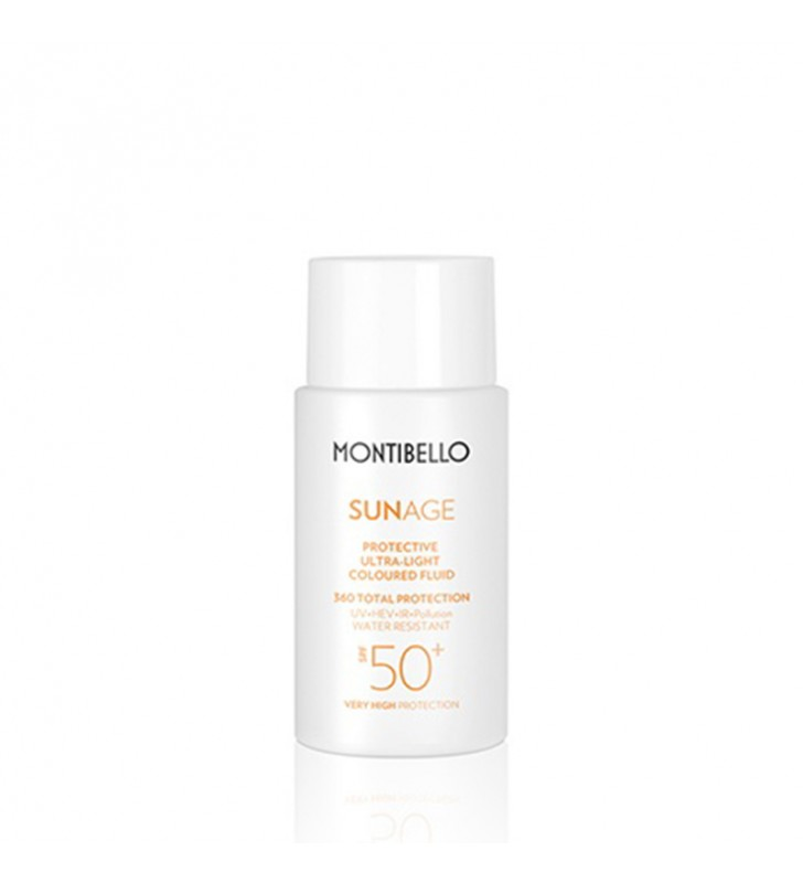 Sun Age. Protective Ultra Light Coloured Fluid SPF 50+ - MONTIBELLO