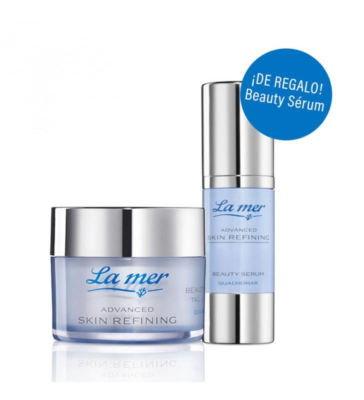 Pack Advanced Skin Refining. Crema Día Con Perfume + Beauty Sérum - LA MER