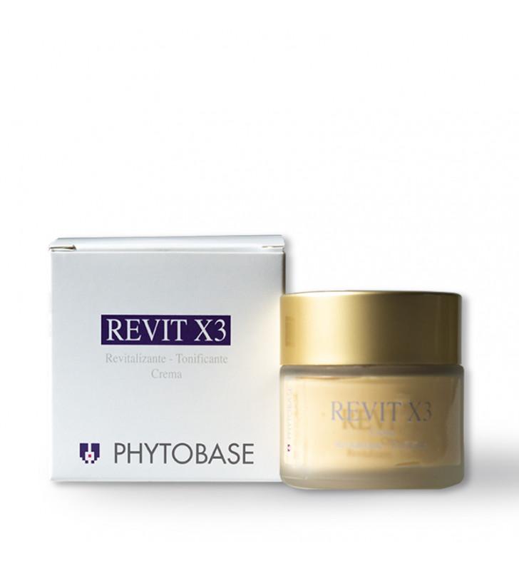 Revit X3. Crema Revitalizante-Tonificante -  PHYTOBASE