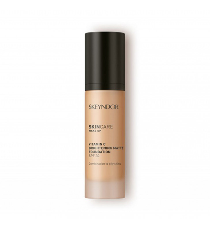 Skincare Make-up. Vitamin C Brightening Matte Foundation - SKEYNDOR