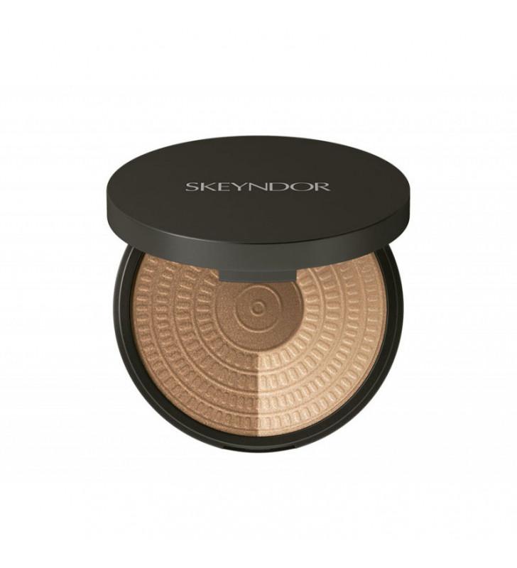 Skincare Make-Up. Highlight Powder Duo - SKEYNDOR