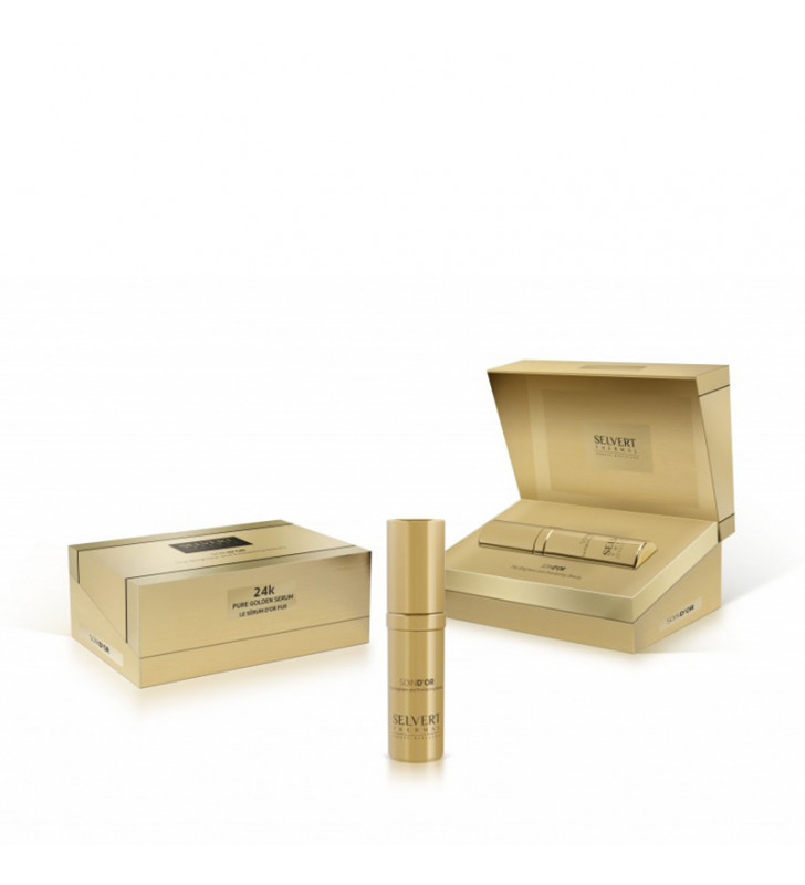Soin D'Or. Pure Golden Serum 24K - SELVERT