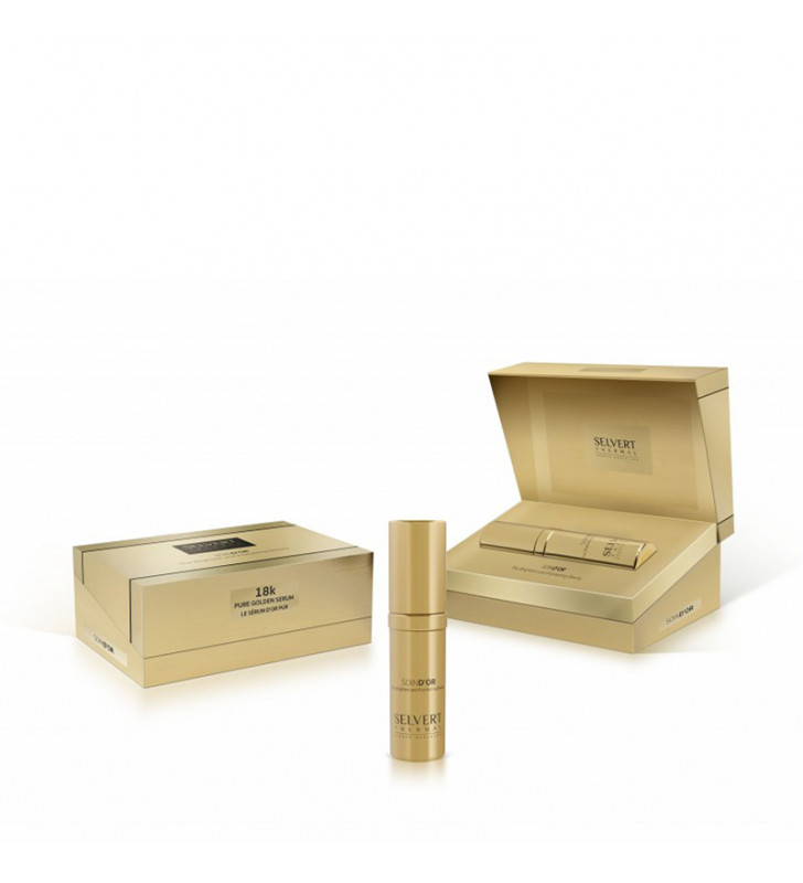 Soin D'Or. Pure Golden Serum 18K - SELVERT