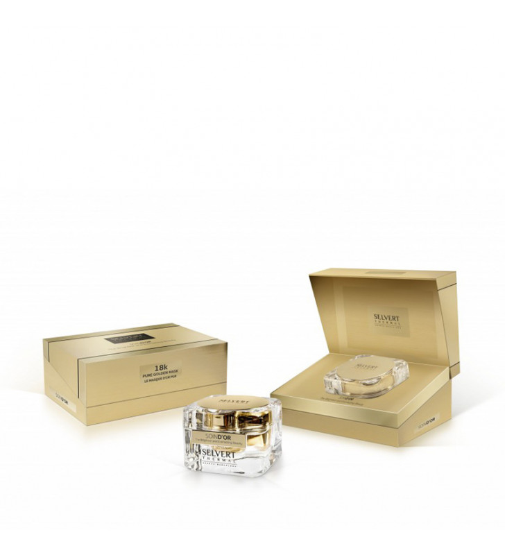 Soin D'Or. Pure Golden Mask 18K - SELVERT